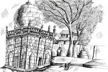 Green Stone Mosque   L. Lekha Shree   Class VII-A   VVW